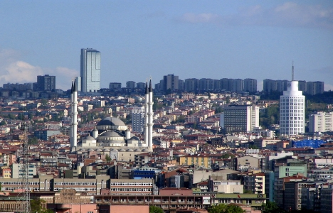Ankara'da bin kişi