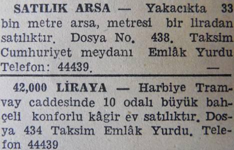1943 yılında Yakacık'ta