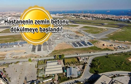 Atatürk Havalimanı'nda hastane çalışmaları hızlandı!