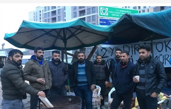 Ankara'daki TOKİ işçileri kazandı!