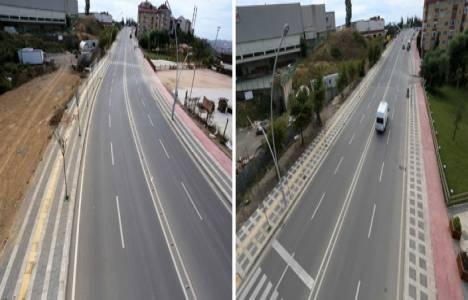 Gebze Ahmet Penbegüllü Caddesi yenilendi!