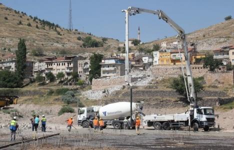 Nevşehir Külliyesi inşaatı