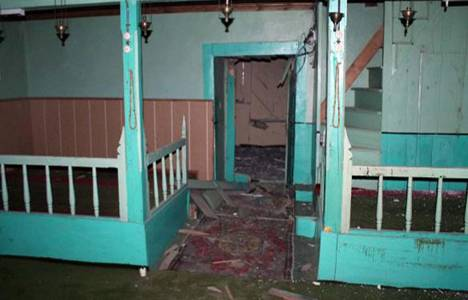 Kastamonu'da camiye yıldırım düştü!