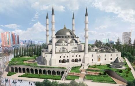 Tiran'ın en büyük camisinin ilk harcı atılıyor!