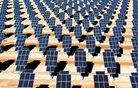 Türkiye'nin en büyük güneş enerjisi tarlası Kayseri'de!