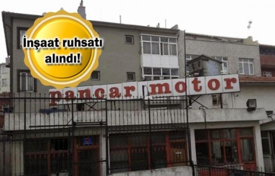 Pancar Motor Fabrikası arazisine ofis geliyor!