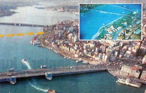 2000 yılında Haliç'e 5. Köprü!