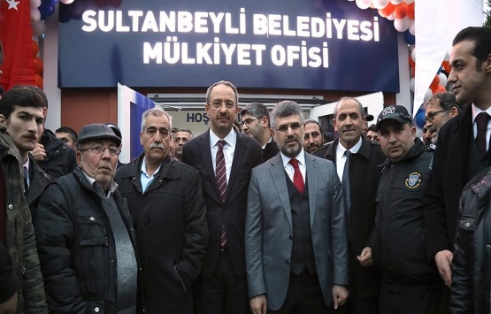 Sultanbeyli'de Mülkiyet Ofisi