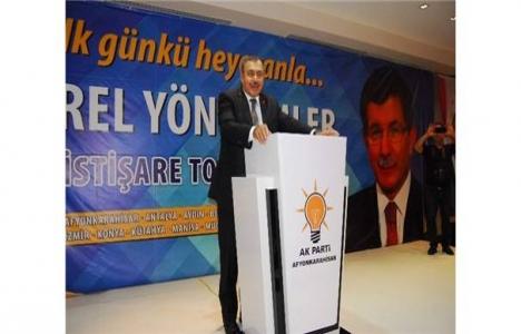 Veysel Eroğlu, belediye başkanlarını alt yapı konusunda uyardı!