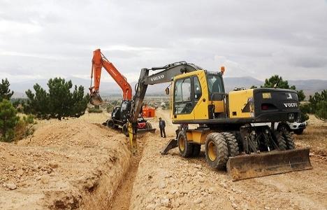 Eskişehir Dümrek'in altyapısı yenileniyor!