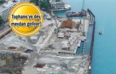 Galataport'ta yıkımlar