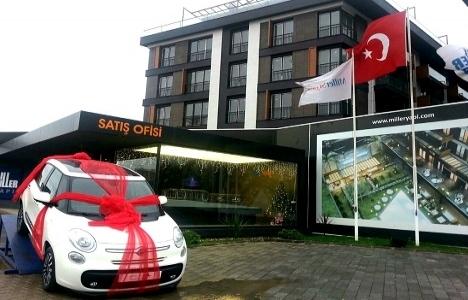Miller Yapı'dan yeni yıla özel ev ve araba kampanyası!