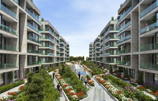 Alya Grandis çatısında geniş daire seçenekleri sunuyor!
