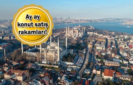 İstanbul'da 2019'un ilk yarısında 91 bin 561 konut satıldı!