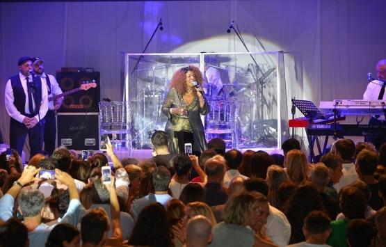Gloria Gaynor Nef Reserve Yalıkavak'ta sahne aldı!