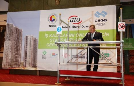 Ankara'da 'Güvenli İskele'
