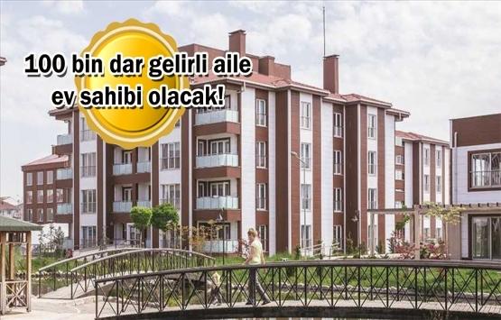 TOKİ'nin '100 bin Sosyal Konut Projesi'nde hak sahipleri belirlendi!