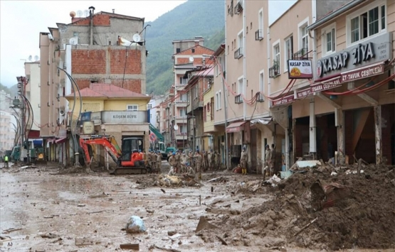 Giresun Doğankent'teki riskli binalar yıkılıyor!