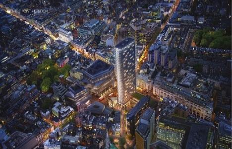Center Point'teki penthouse 55 milyon sterline satılıyor!