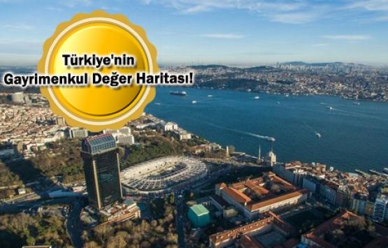 Konutta en yüksek fiyat Beşiktaş, Bozcaada ve Beykoz'da!