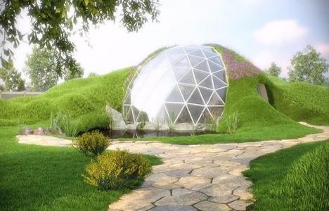 İşte rüzgar ve depreme dayanıklı Biodome evleri!