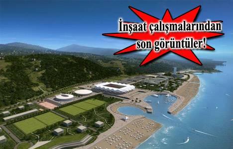 Trabzon Akyazı Stadyum ve Spor Tesisleri'nin inşaat çalışmaları ne durumda?