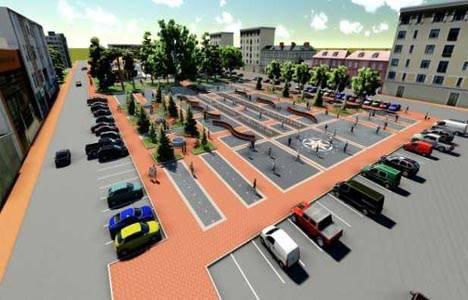 Erbaa, Cumhuriyet Meydanı Projesi ile güzelleşecek!