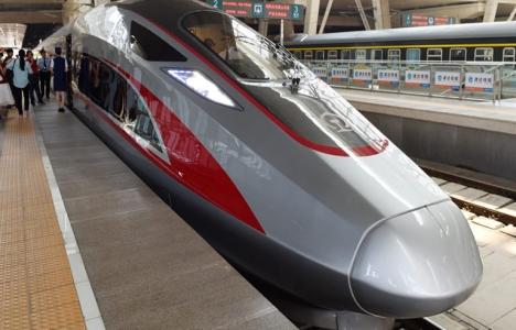 Çin'in yeni yüksek hızlı treni ilk seferini yaptı!