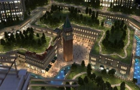 Venedik Sarayları projesinde