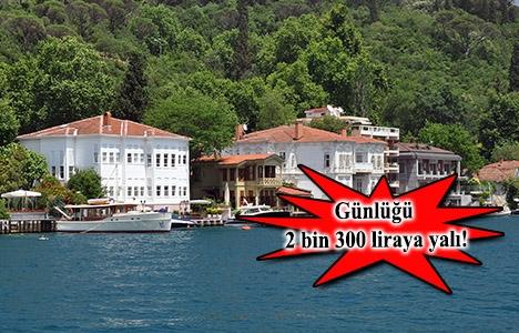İstanbul'da günlük kira