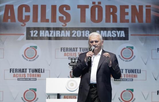 Başbakan Yıldırım: Kanal