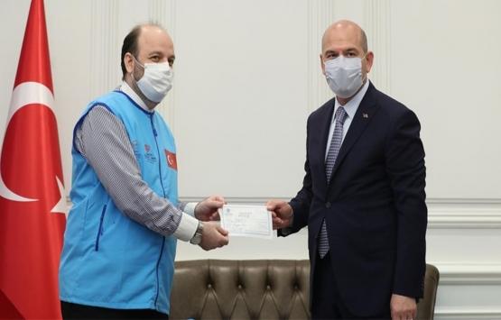 Süleyman Soylu İdlib için 10 briket ev bağışladı!
