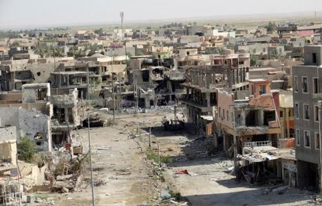 Irak Ramadi'de zarar gören evler yeniden imar edilecek!
