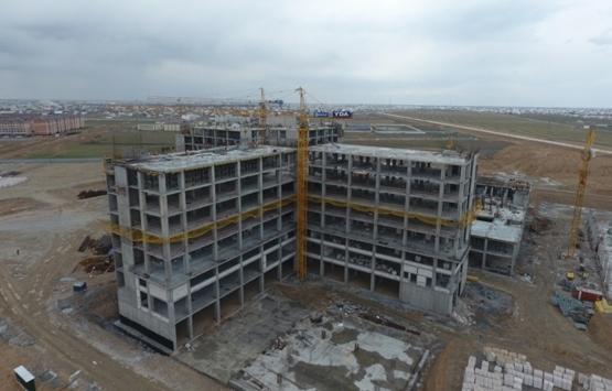 Türkistan Bölge Hastanesi inşaatı 2022'de bitecek!