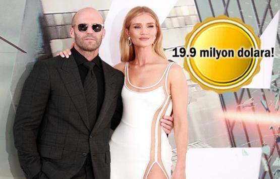 Jason Statham ve Rosie Huntinton Whiteley Malibuda'daki evlerini satıyor!