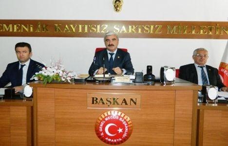 Amasya Belediye Meclisi'nde imar konuşuldu!