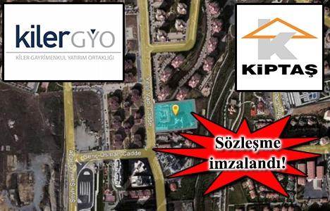 Kiler GYO ile KİPTAŞ Başakşehir'de yeni proje yapacak!
