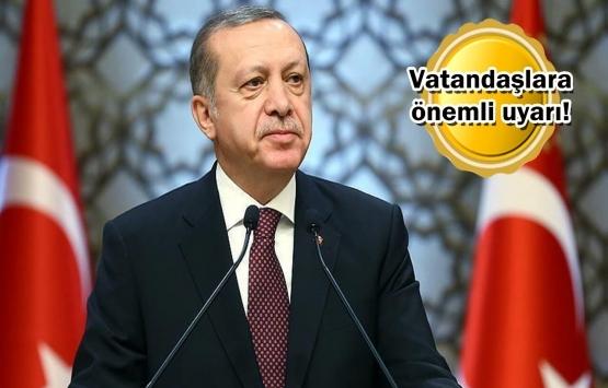 Cumhurbaşkanı Erdoğan'dan kentsel dönüşüm çağrısı!