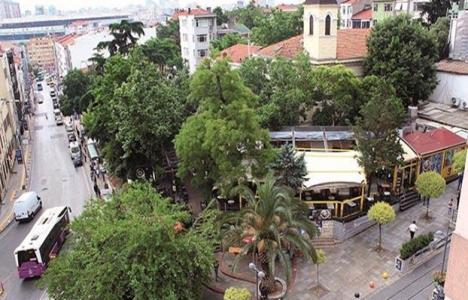 Kadıköy'de parkın yerine