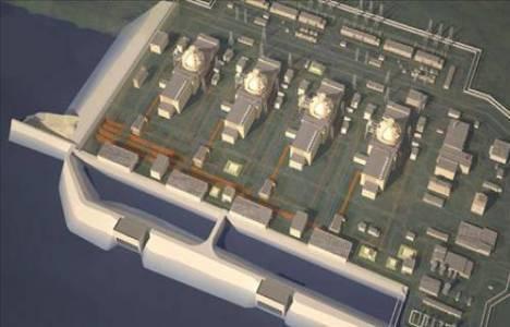 Akkuyu'da nükleer santral