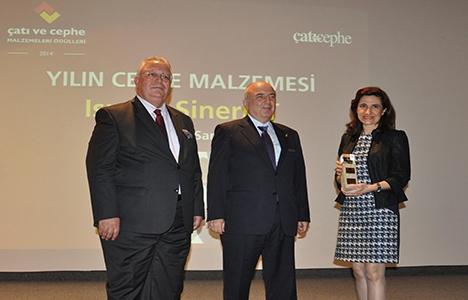 Trakya Cam Yılın Cephe Malzemesi ödülü aldı!