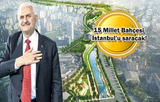 İstanbul 'Yeşil Ağ' ile örülecek!