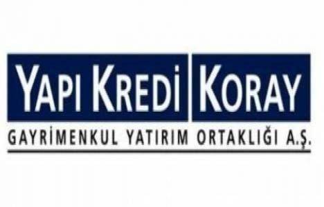 Yapı Kredi Koray GYO Çankaya projesi ticaret merkezi kira açıklaması!