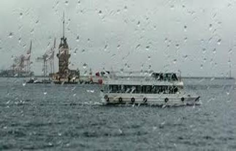 İstanbul'a yağmur uyarısı!