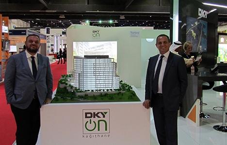 DKY On projesinin 71 dairesi Dubai'de rezerve edildi!