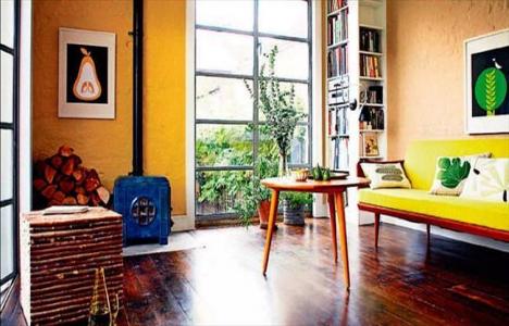 Ev dekorasyonunda sarı modası!