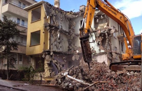 2017 sonrası yapılan kaçak bina yıkılacak!