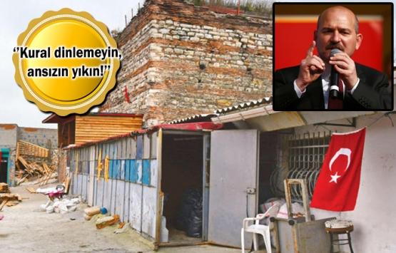 Süleyman Soylu'dan valilere metruk ev talimatı!