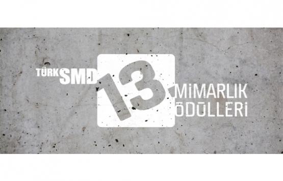 TSMD 13. Mimarlık Ödülleri adaylarını bekliyor!