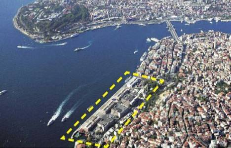 Galataport Projesi'nin detayları belli oldu!